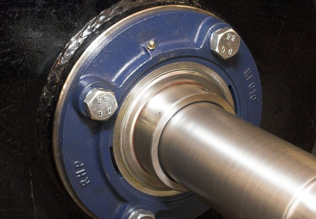 Close up of pulley